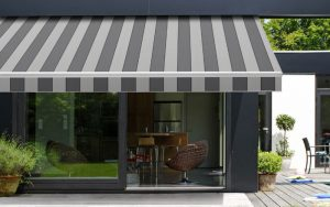 Nice Retractable Awning Is A Secondary Covering Attached To The Exterior Wall Of  A Building, It Is Placed Above The Windows, Doors Or Even Above The Area  Along ...